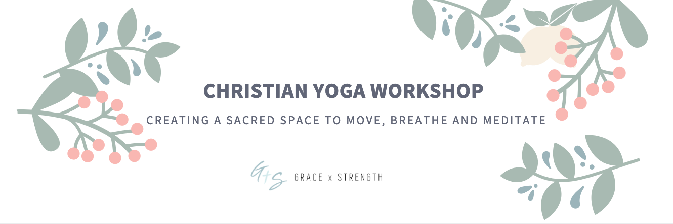 Christian Yoga Workshop Banner