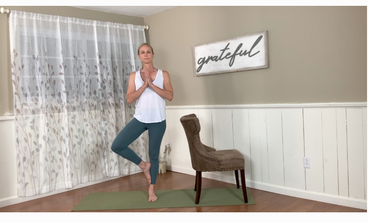 Chair Yoga with Sherry McWilliam | Grace x Strength