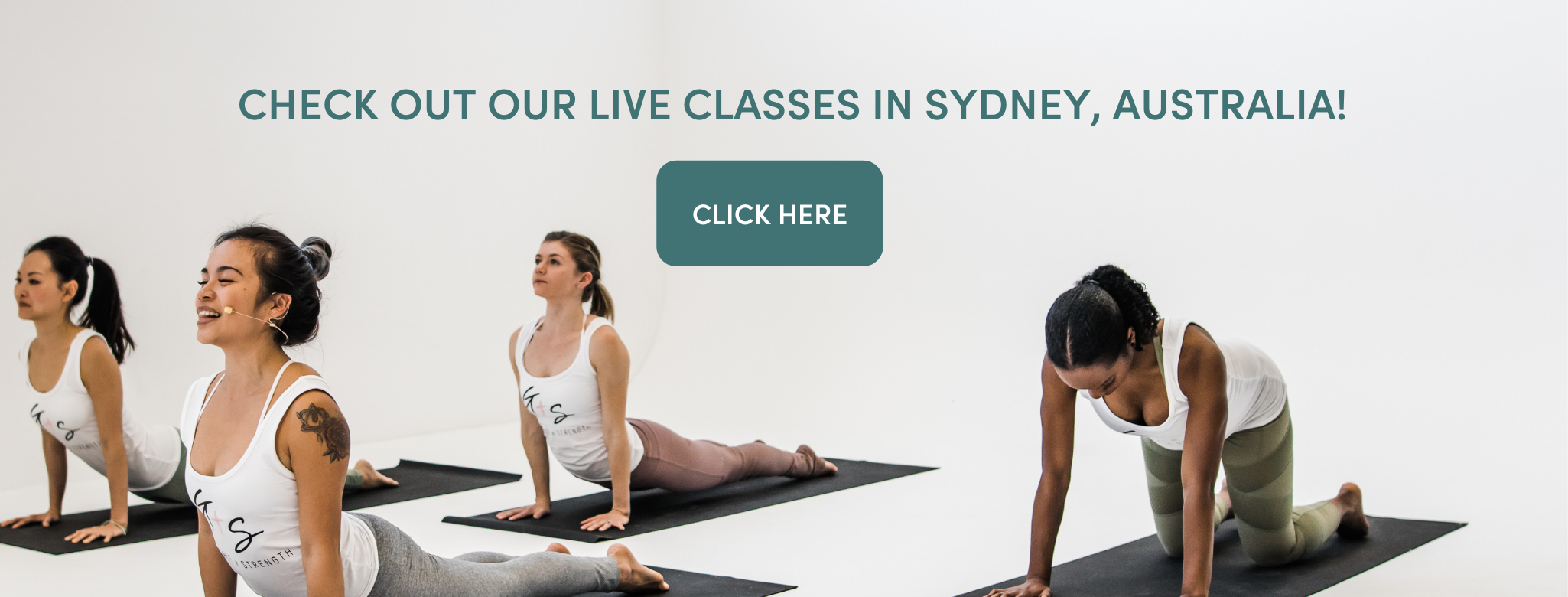 For all Grace x Strength live classes