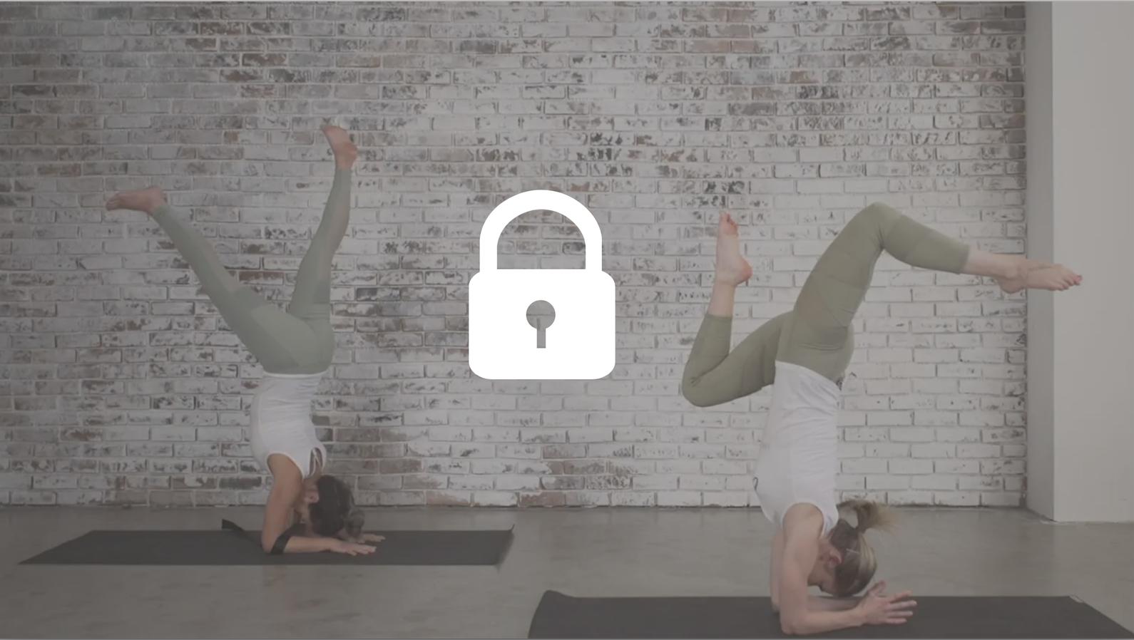 Inversions yoga class
