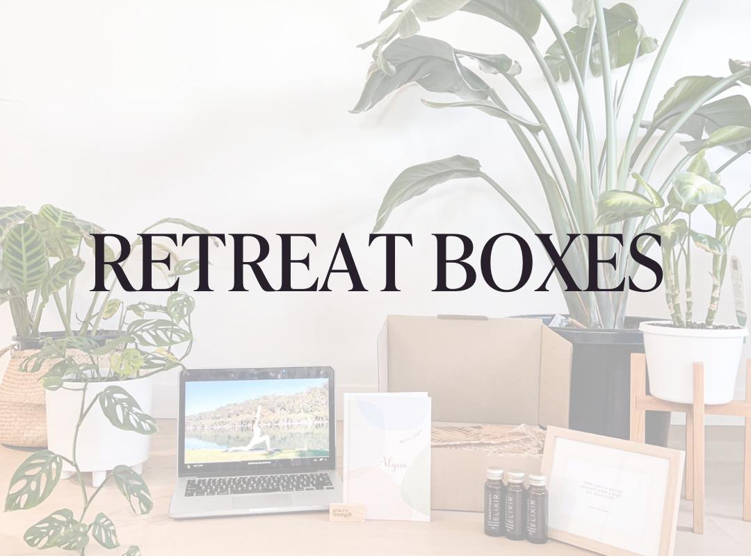 RETREAT BOXES